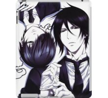 Black butler iPad Case/Skin