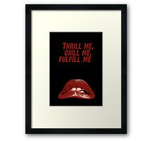 Rocky Horror Picture Show Framed Print