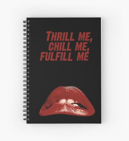 Rocky Horror Picture Show Spiral Notebook