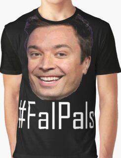 #FalPals White Graphic T-Shirt