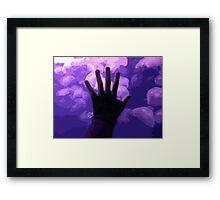 Moon Jellies Framed Print
