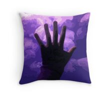 Moon Jellies Throw Pillow