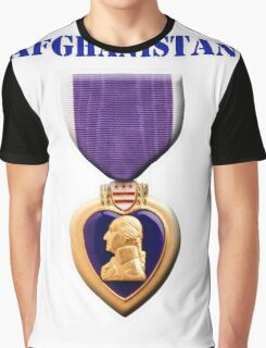 Purple Heart - Afghanistan Graphic T-Shirt