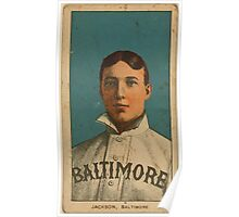 Benjamin K Edwards Collection Jimmy Jackson Baltimore Team baseball card portrait Poster