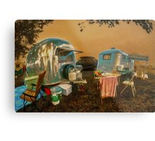 The Corner of Airstream & Westcraft Metal Print