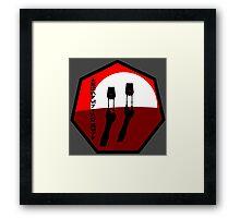 Thundering Herd Walker Group - Insignia Series Framed Print