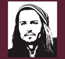 Johnny Depp #2 - clothing, stickers & iPhone cases by Lauren Eldridge-Murray