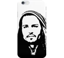 Johnny Depp #2 - clothing, stickers & iPhone cases iPhone Case/Skin