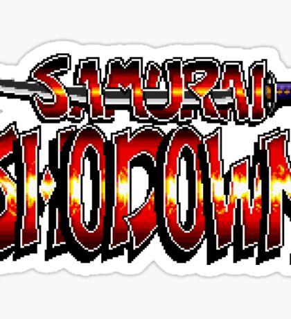 Samurai Shodown - SNES Title Screen Sticker