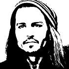 Johnny Depp #2 - prints by Lauren Eldridge-Murray
