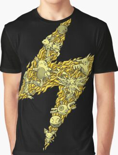 PokeDoodle - Electric Graphic T-Shirt