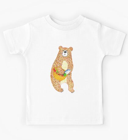 Autumn Bear Kids Tee