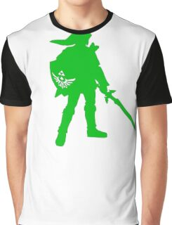Link Green Graphic T-Shirt