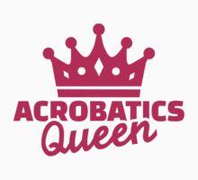 Acrobatics Queen Kids Tee