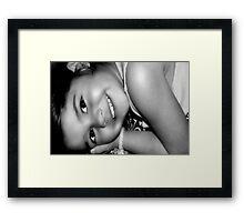Sweet Smile  Framed Print