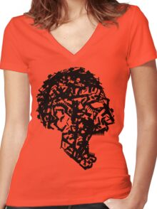People Kill Women's Fitted V-Neck T-Shirt