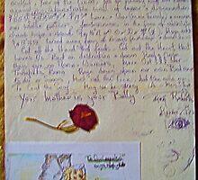 doodles n a rose by MardiGCalero