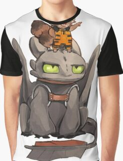 How to train your dragon ! Graphic T-Shirt