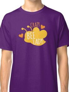 CRAZY BEE LADY Classic T-Shirt