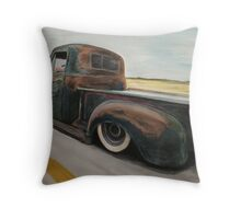 goin to the show Throw Pillow