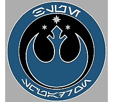Star Wars Episode VII - Blue Squadron (Resistance) - Insignia Series Photographic Print