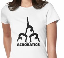 Acrobatics Womens Fitted T-Shirt