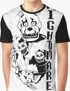 Nightmare Freddy Graphic T-Shirt