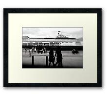 bon voyage . . . Framed Print