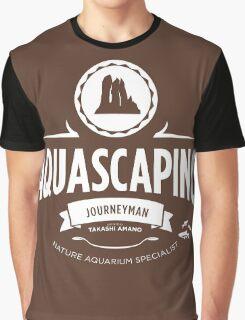 Aquascaping - Journeyman Graphic T-Shirt