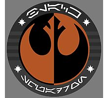 Star Wars Episode VII - Black Squadron (Resistance) - Insignia Series Photographic Print