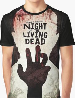 Night of the Living Dead - Minimal Poster Design Graphic T-Shirt