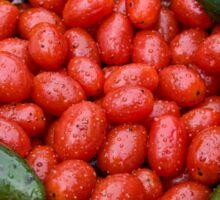 Colorful Tomato Pepper Bowl Sticker