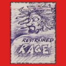Restrained Rage: Sticker or T-Shirt by JSYandow