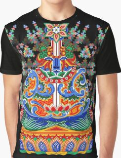 Meditating bear Graphic T-Shirt