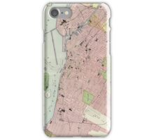 Vintage Map of Montreal (1903) iPhone Case/Skin