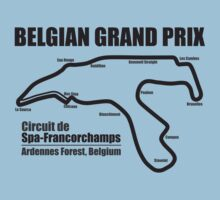 Belgian Grand Prix - Spa-Francorchamps (Light Shirts) by oawan