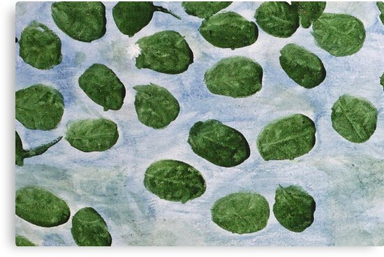 Impression Lilly Pads by Thomas Murphy