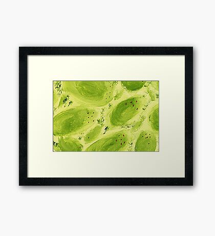 Impression Mangos Framed Print