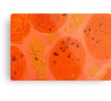 Impression Oranges Metal Print