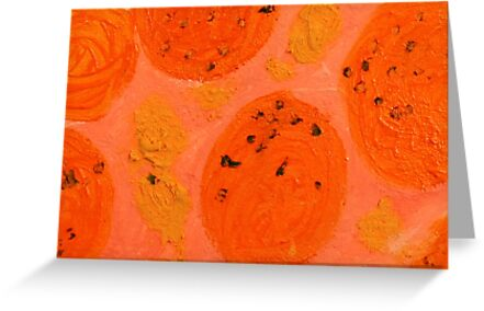 Impression Oranges by Thomas Murphy