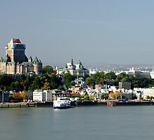 The Old City of Quebec by cvrestan