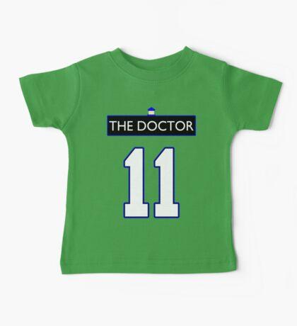 Team Smith (The Doctor Jersey #11, Version TaRDiS) Baby Tee