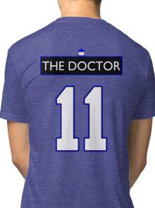 Team Smith (The Doctor Jersey #11, Version TaRDiS) Tri-blend T-Shirt