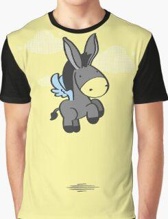 Flying Burrito Graphic T-Shirt