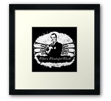 Louis Armstrong - What a Wonderful World Framed Print