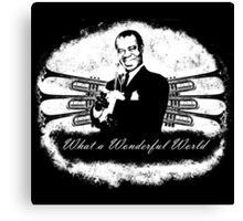 Louis Armstrong - What a Wonderful World Canvas Print
