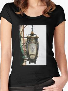 Fancy Lighting in New Orleans Women's Fitted Scoop T-Shirt