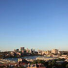 Sunset Over Sydney by grampsman