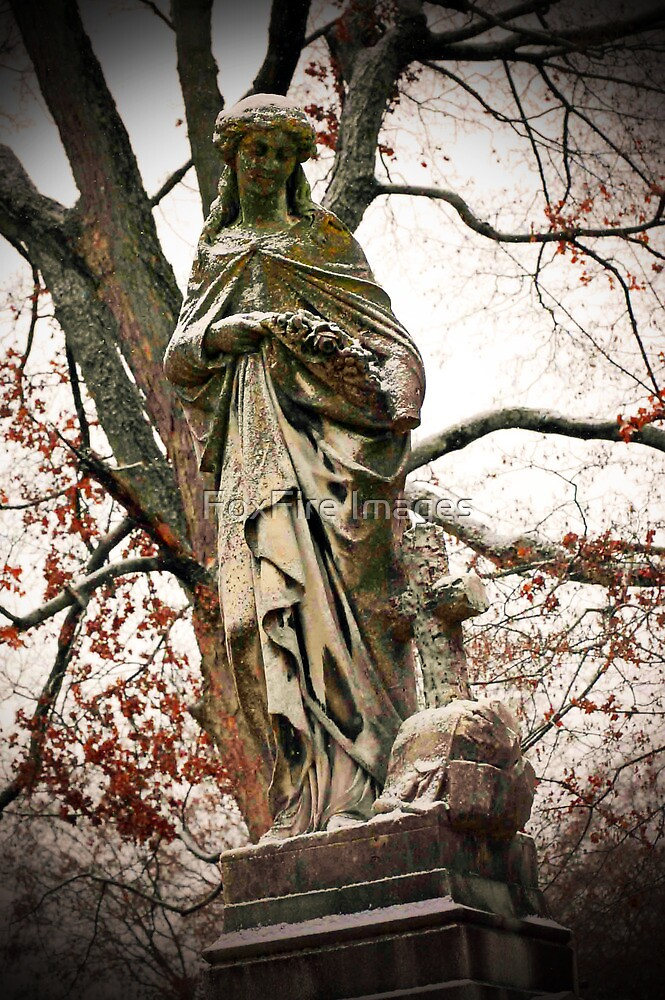 Old Gray Cemetery-1864 by FoxFire Images