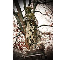 Old Gray Cemetery-1864 Photographic Print